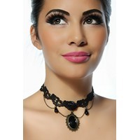 Colier Gothic Black Diamond