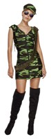 Costum Fever Combat Girl XS